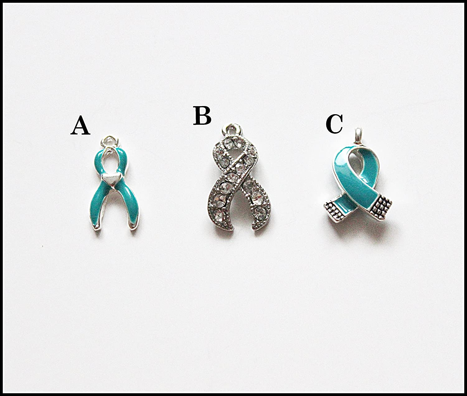 zoom for bracelet listing ribbon fullxfull ocd il cancer wrap ovarian teal awareness