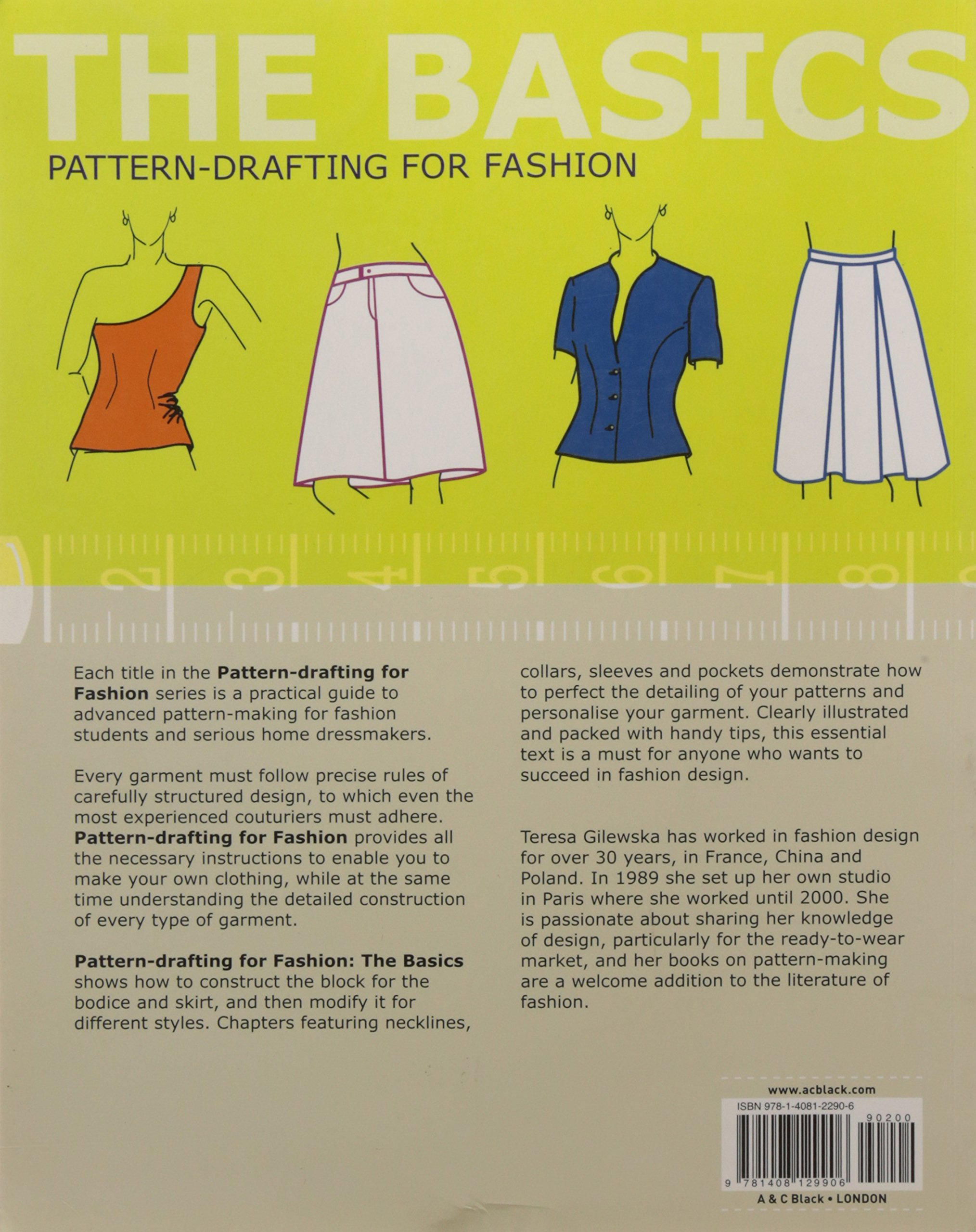 Pattern drafting for fashion the basics teresa gilewska pattern drafting for fashion the basics teresa gilewska 9781408129906 amazon books jeuxipadfo Image collections
