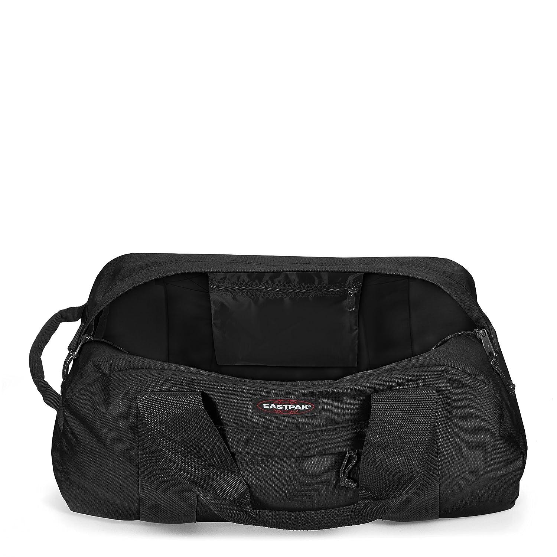 Eastpak Mens Station Duffel Bag Black One Size Padded Pakamp039r Backpack Quilt Sunday Luggage Travel Gear