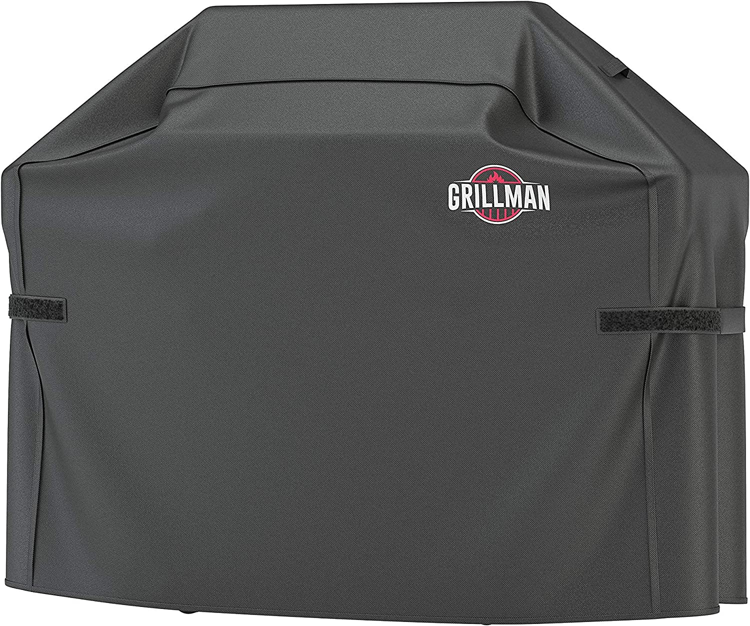 Grillman Premium (64 Inch) BBQ Grill Cover, Heavy-Duty Gas Grill Cover for Weber, Brinkmann, Char Broil etc. Rip-Proof, UV & Water-Resistant (64