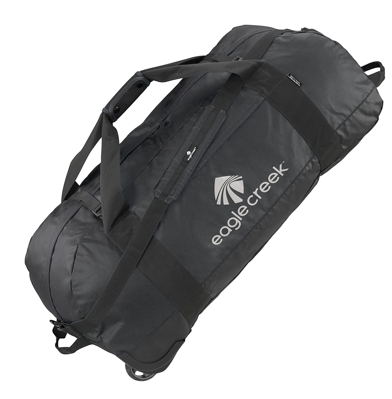 Eagle Creek Ultraleichte Reisetasche Sporttasche mit Rollen No Matter What Rolling Duffel Sac de voyage, 91 cm, 128 liters, Noir (Black) EC-20422010