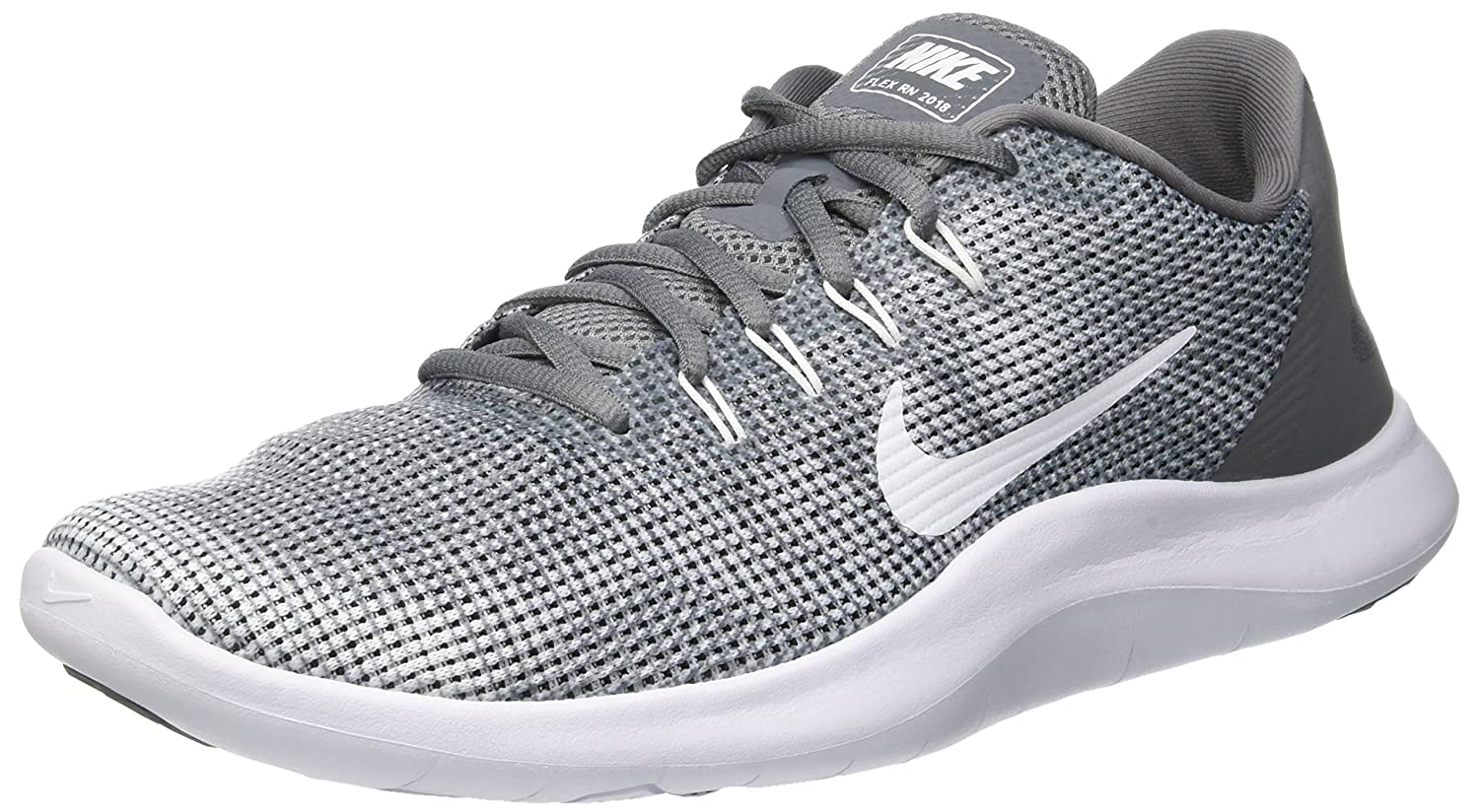 Cool Grey White Nike Men's Flex 2018 Rn Running shoes