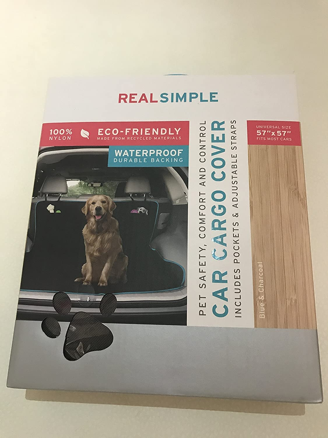 Eco- Friendly Waterproof Car Cargo Cover With Pockets for Dogs