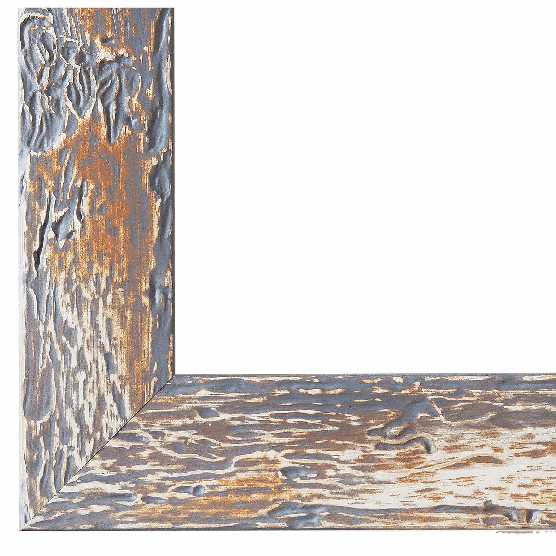 Bilderrahmen Parma Grau 3,9 - LR - 70 x 90 90 90 cm - 500 Varianten - Alle Größen - Handgefertigt - Galerie-Qualität - Antik, Barock, Landhaus, Shabby, Modern - Fotorahmen Urkundenrahmen Posterrahmen 76c09d