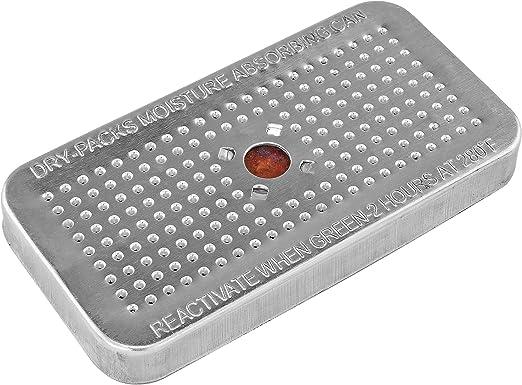 Dry-Packs/ /40/gram Gel de S/ílice en Recipiente Resistente de Aluminio