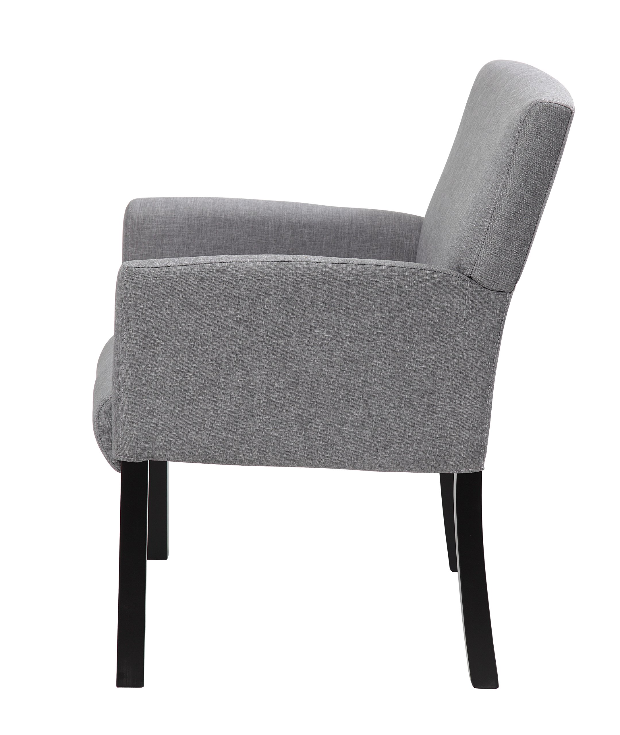 Boss Office Products B659-MG Contemporary Guest Chair in Grey by Boss Office Products (Image #5)