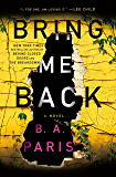 Bring Me Back: A Novel (English Edition)
