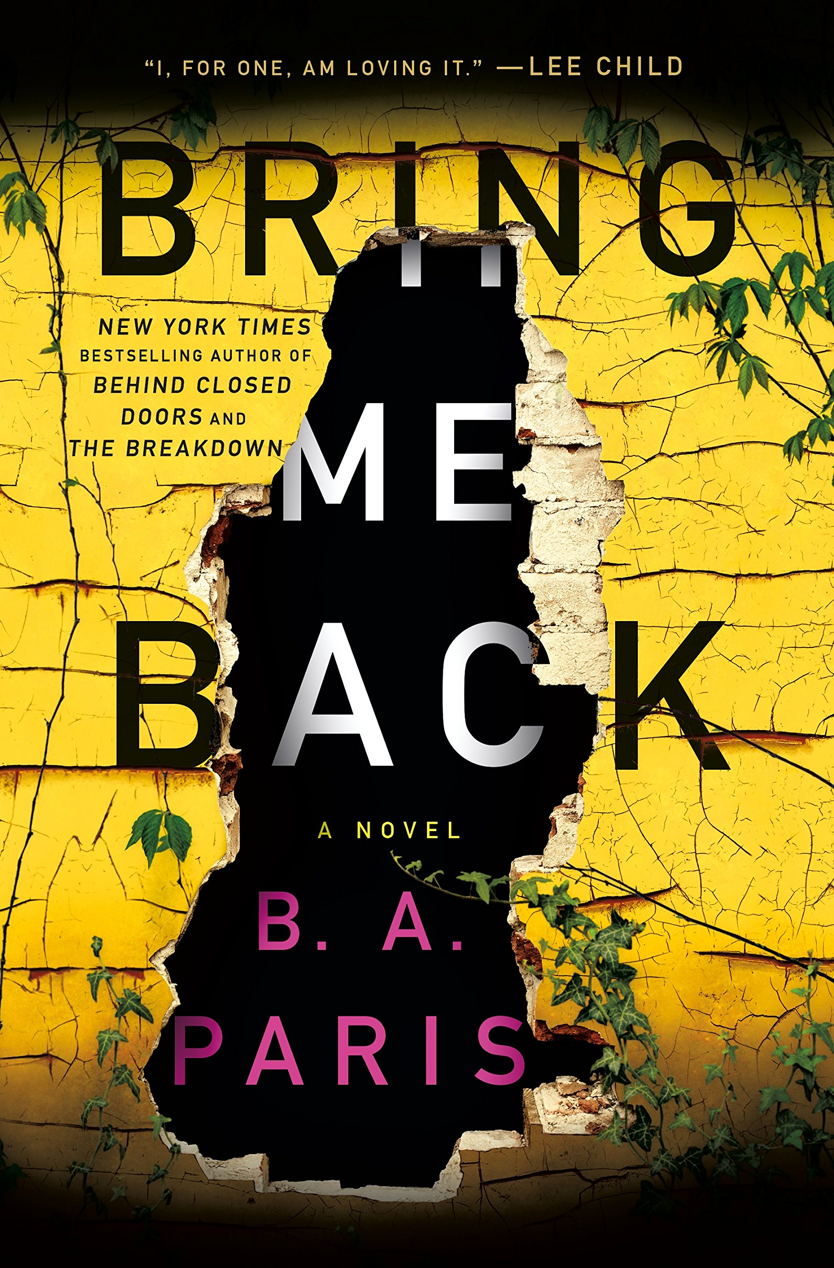 Bring Me Back: A Novel: Paris, B. A.: 9781250151339: Amazon.com: Books