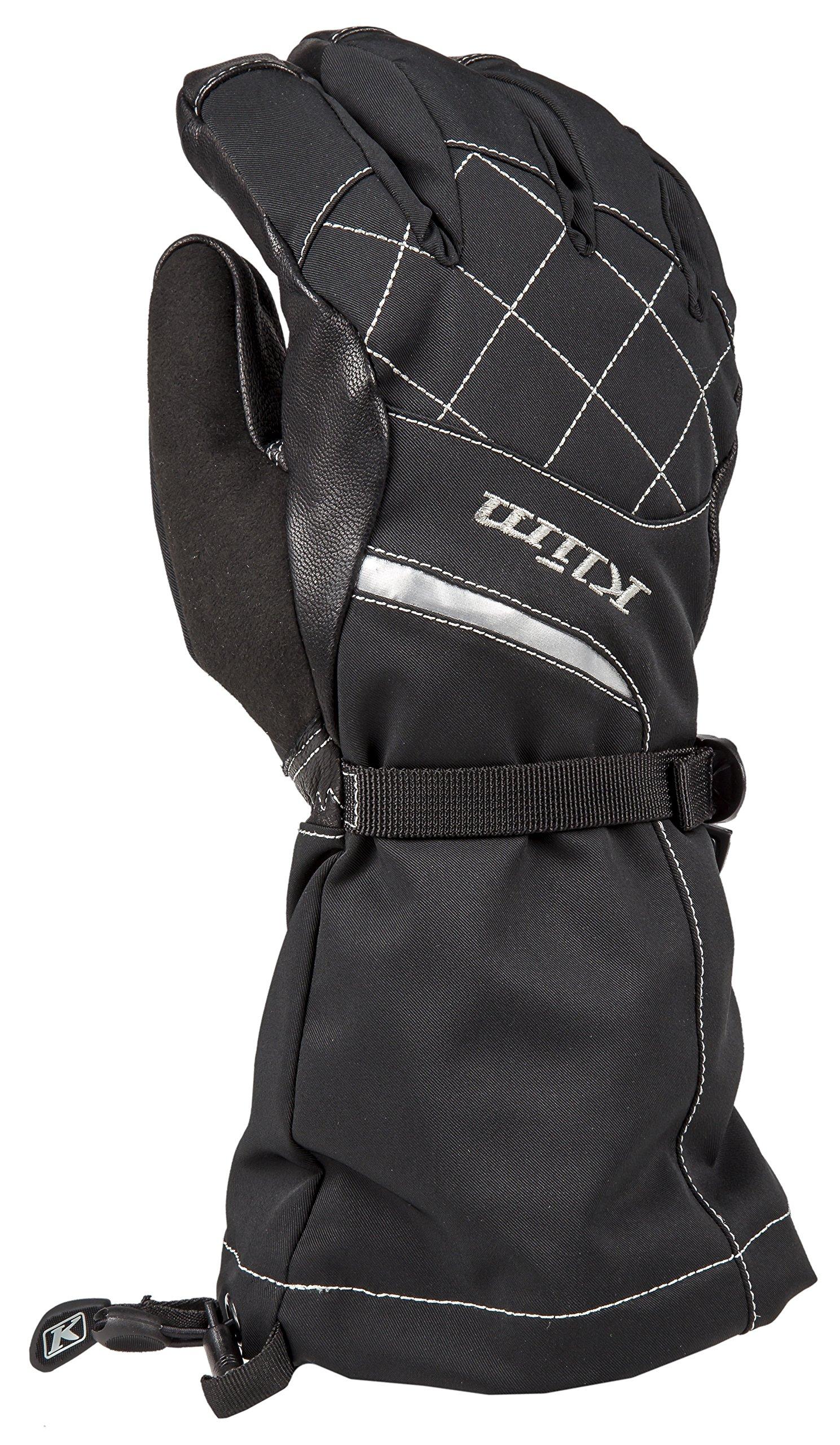 Klim Allure Women's Ski Snowmobile Gloves - Matte Black / X-Large