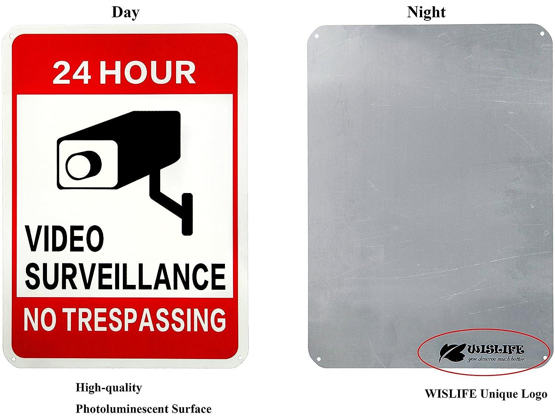 Amazon.com: Signo de video de vigilancia Wislife, de 40 ...