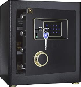 TIGERKING Security Home Safe,Safe Box-1.4 Cubic Feet