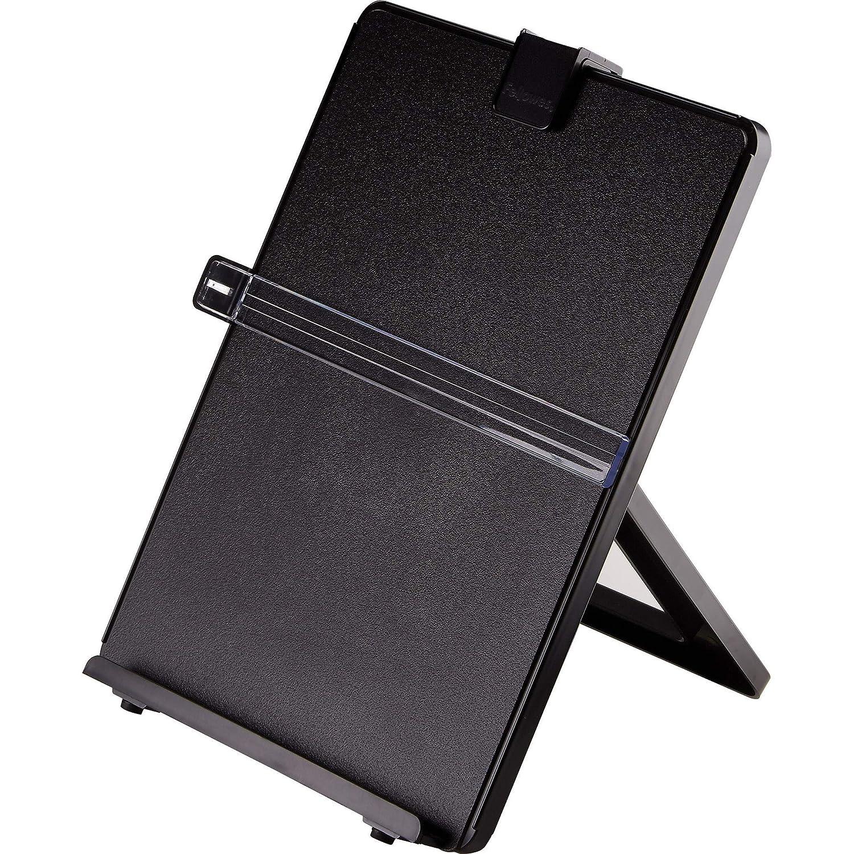 B00004Z5QZ Fellowes Letter Sized Non-Magnetic Copyholder, Black (21106) 91b5qb3jXaL