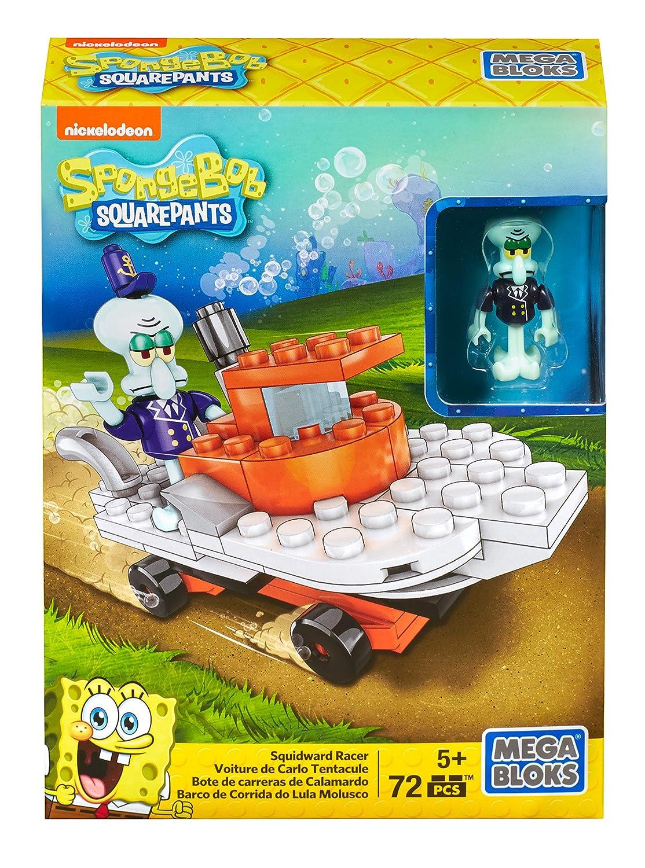 Mega Bloks SpongeBob SquarePants Patty Wagon Racer Playset
