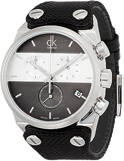 Calvin Klein Reloj Cronógrafo para Hombre de Cuarzo con Correa en Tela K4B381B3