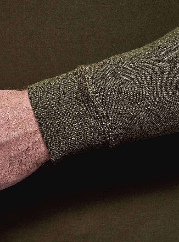 oodji Ultra Uomo Felpa Basic in Cotone