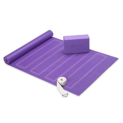e980ef93a674a Image Unavailable. (Purple) - Gaiam Beginner s Yoga ...
