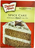 Duncan Hines Signature Cake Mix, Spice, 16.50 Ounce (Pack of 6)