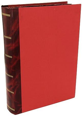 Mariola 0697 - Caja con forma de libro fabricada en cartón forrado folio prolongado lomo: Amazon.es: Oficina y papelería
