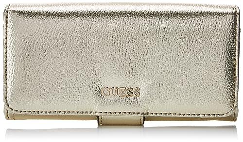 Guess - Slg Wallet, Carteras Mujer, Dorado (Gold), 2x10x20 cm (