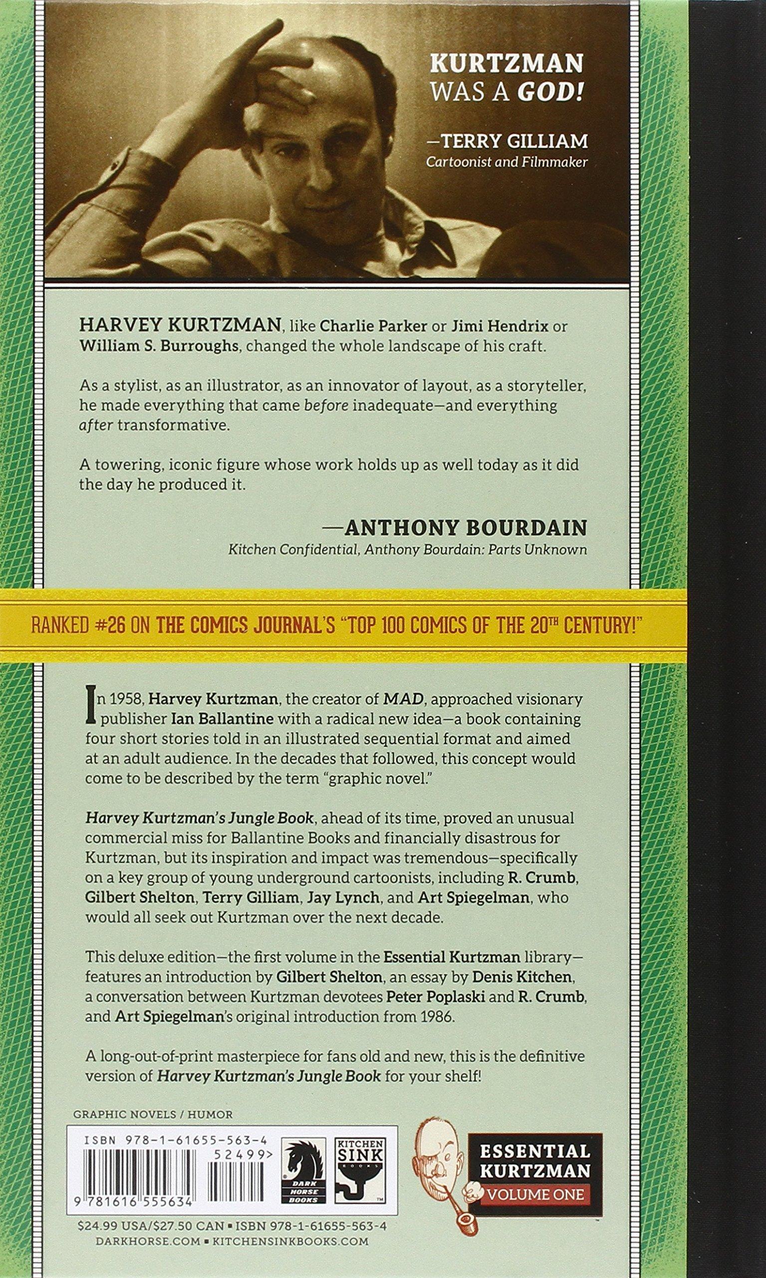 harvey kurtzman s jungle book essential kurtzman harvey