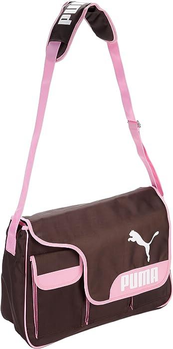 627c31af7719 Amazon.com  PUMA East West Messenger Diaper Bag