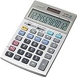 カシオ 本格実務電卓 日数&時間・税計算 ジャストタイプ 12桁 JS-20DT-N
