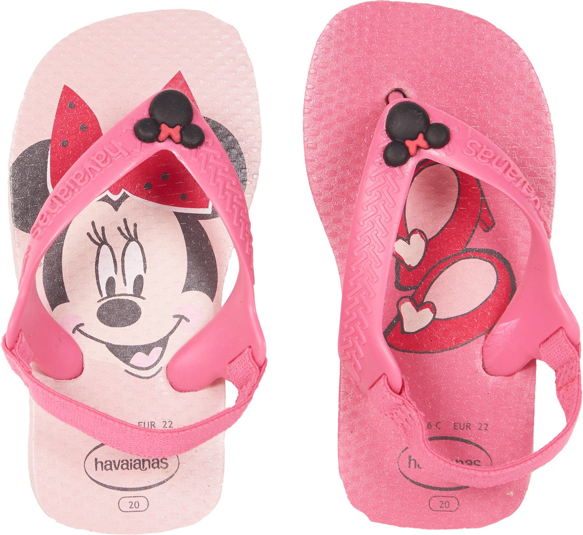 Havaianas Baby Disney Classics Sandal, Pearl Pink 20 BR /Toddler (6 M US)