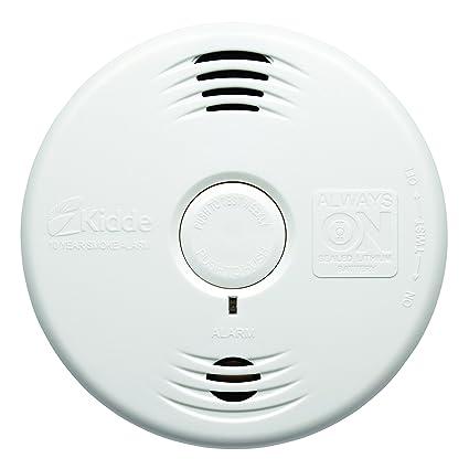 Kidde 002518.0024 wfpv Detector de humo óptico con batería de litio integrada para toda la vida ...