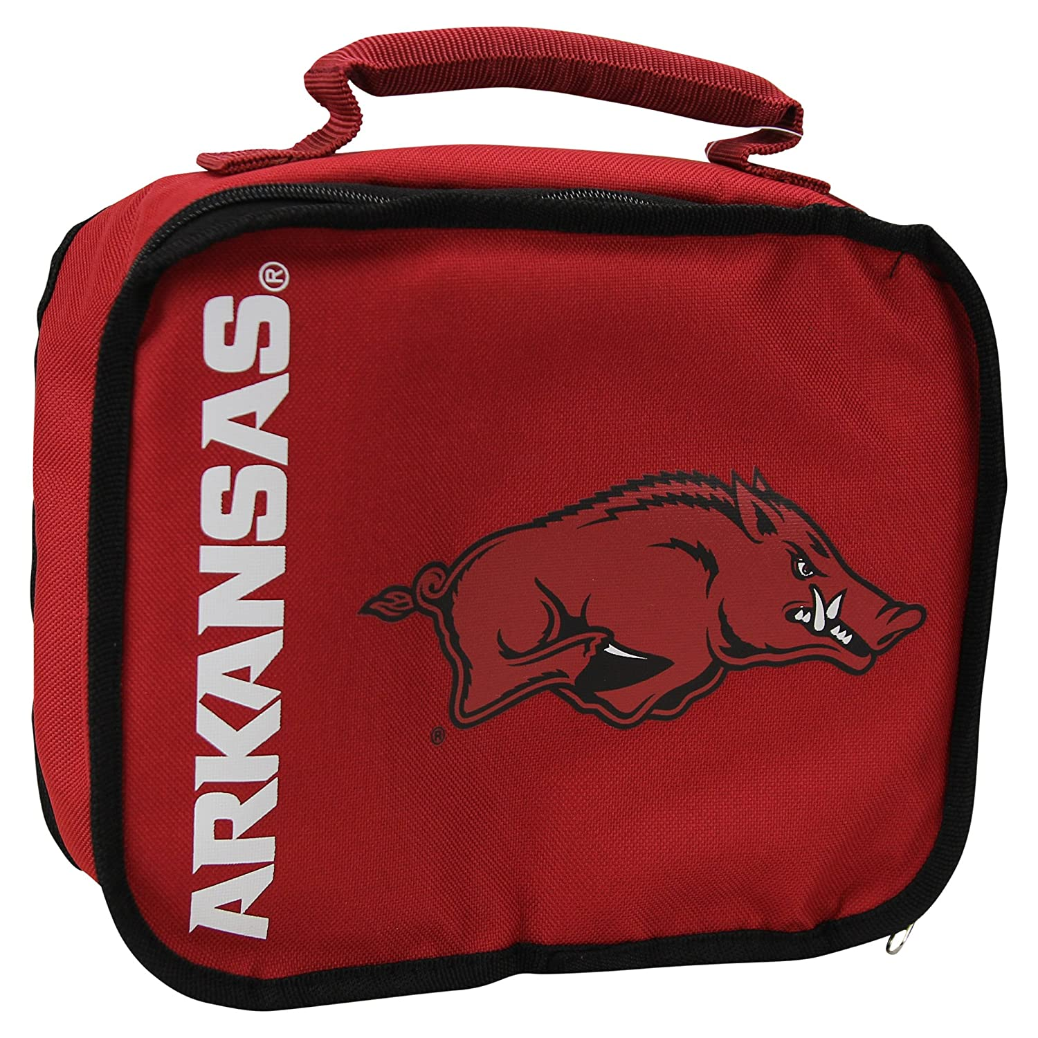 Arkansas Razorbacks The Northwest Company NCAA Team Logo Sacked Lunch Box