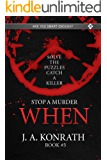 STOP A MURDER - WHEN (Mystery Puzzle Book 5)