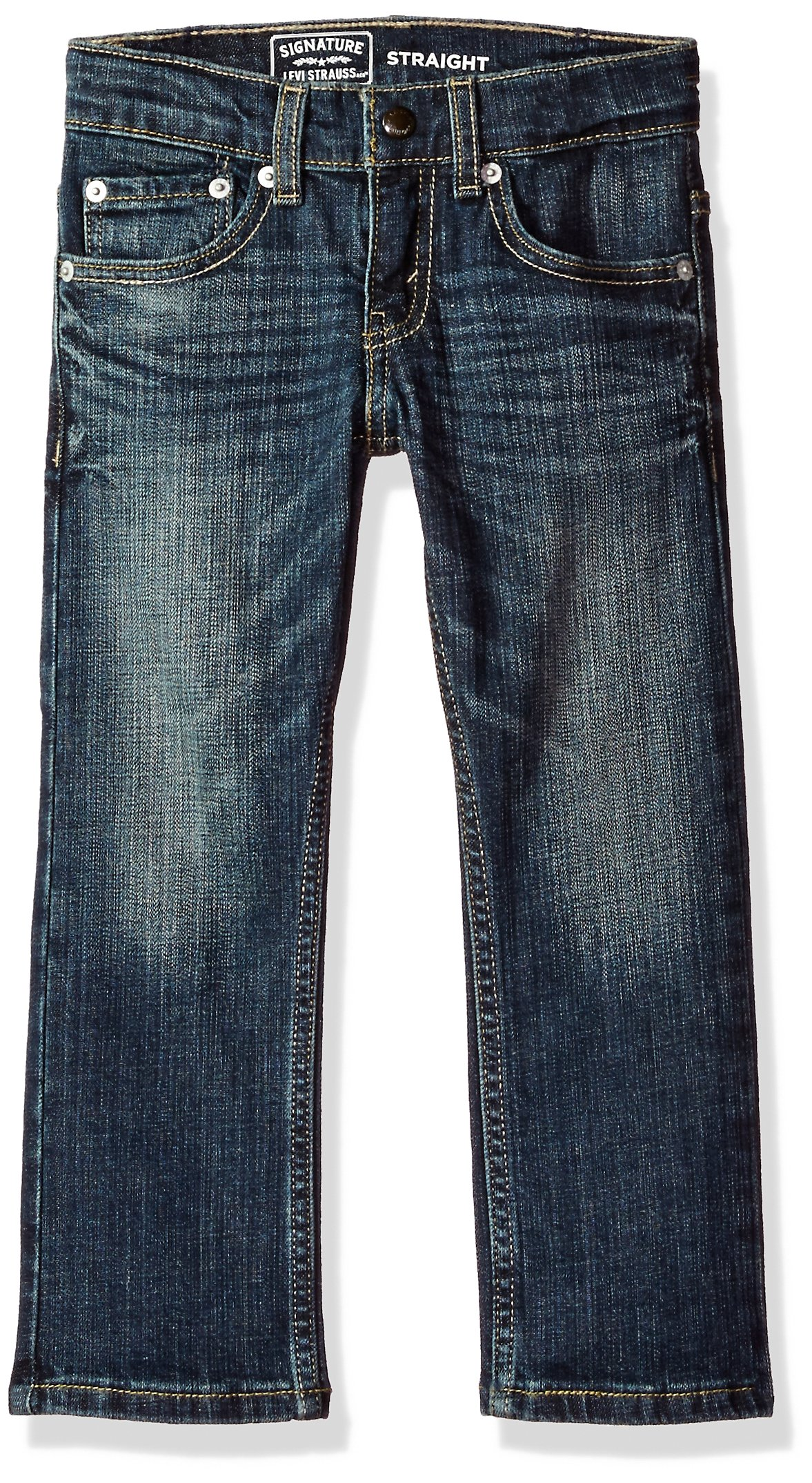 Signature by Levi Strauss & Co. Big Little Boys' Straight Fit Jeans, Perth, 6