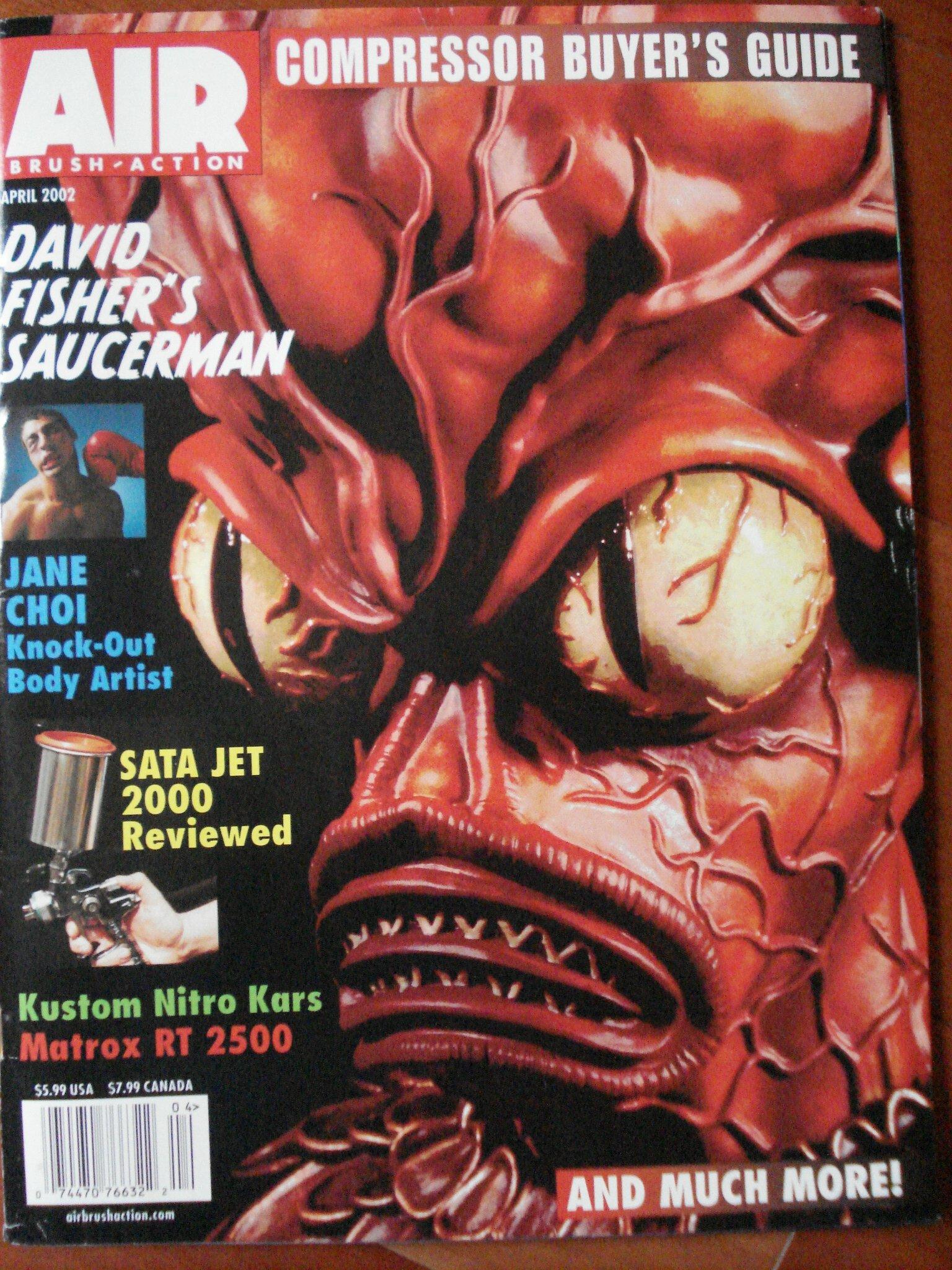 Airbrush Action Magazine - April 2002 (Volume 17, Number 6) PDF
