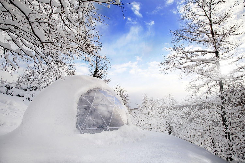 Garten Iglu im Winter