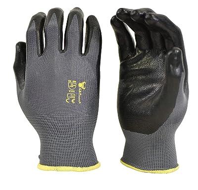 6 PAIRS Men's Working Gloves