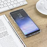 check out c77da f2866 Olixar Samsung Galaxy Note 8 Tough Hard Case - ExoShield Snap-on - Wireless  Charging Compatible (Clear)