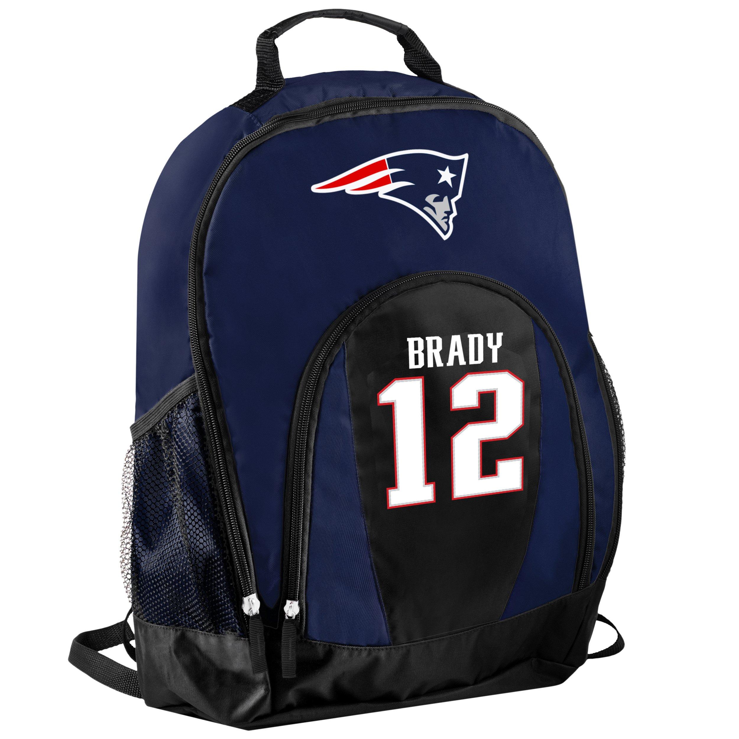 FOCO New England Patriots Tom Brady #12 Primetime Backpack