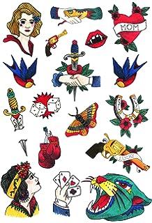Tatuajes Temporales Tatsy, Marinero Set, Diseño Original Y ...