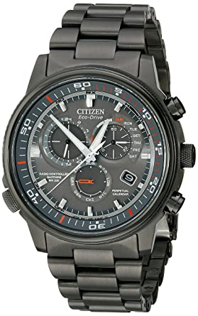 Amazon Citizen Mens At4117 56h Nighthawk A T Stainless Steel