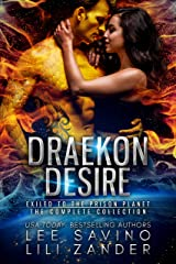 Draekon Desire: A Sci-Fi Dragon Shifter Menage Romance Boxed Set: Exiled to the Prison Planet: The Complete 7 Novel Collection Kindle Edition