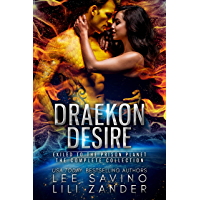 Draekon Desire: A Sci-Fi Dragon Shifter Menage Romance Boxed Set: Exiled to the Prison Planet: The Complete 7 Novel…