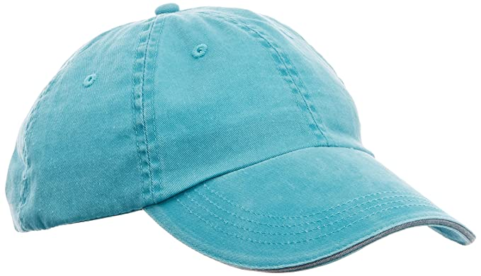 Unisex Low-Profile Sandwich Twim Twill Cap Anvil PbeBH2ZaD