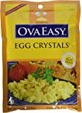 Ova Easy Egg Crystals – Dehydrated Eggs – Camping and Survival Food - 4.5 oz Bag