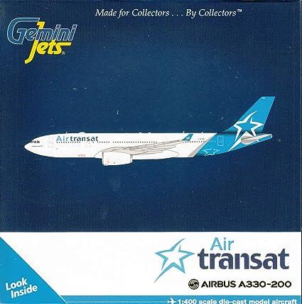 Amazon Com Geminijets Gemgj1744 1 400 Air Transat Airbus A330 200