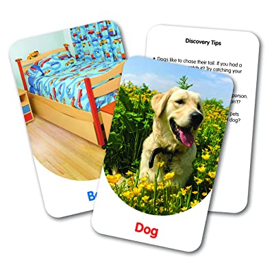 The Learning Journey Discovery Cards – in & Around – Toddler Toys & Gifts for Boys & Girls Ages 2 Years and Up – Mind Building Educational Learning Tool: Toys & Games