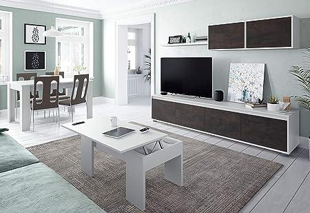 Miroytengo Conjunto Salon Mueble Modular Television Mesa Centro y ...