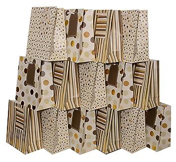 Amazon.com: Pequeñas bolsas de regalo para bodas, cumpleaños ...