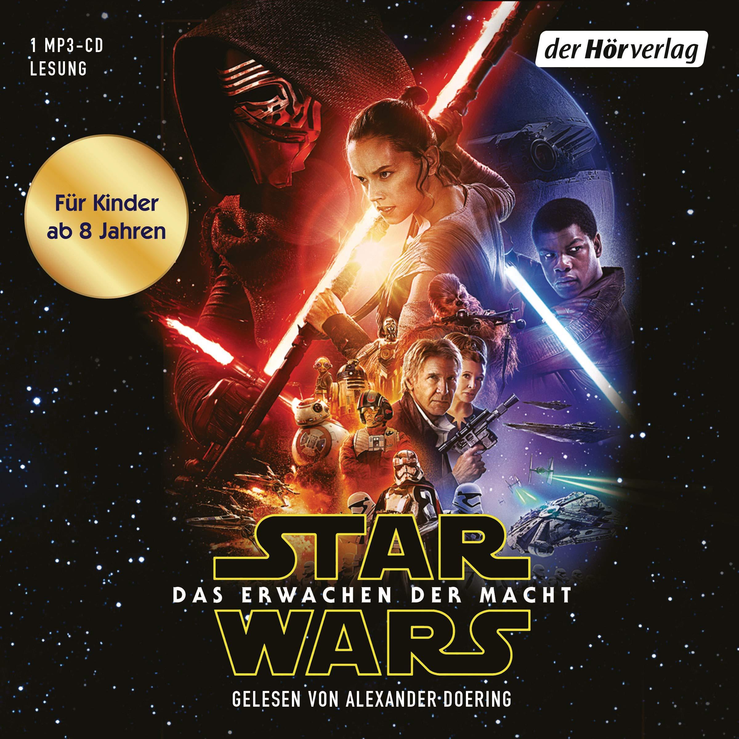 Star Wars: Das Erwachen der Macht: (Episode VII) Hörkassette – Gekürzte Ausgabe, Audiobook, MP3 Audio Michael Kogge Alexander Doering Andreas Kasprzak der Hörverlag