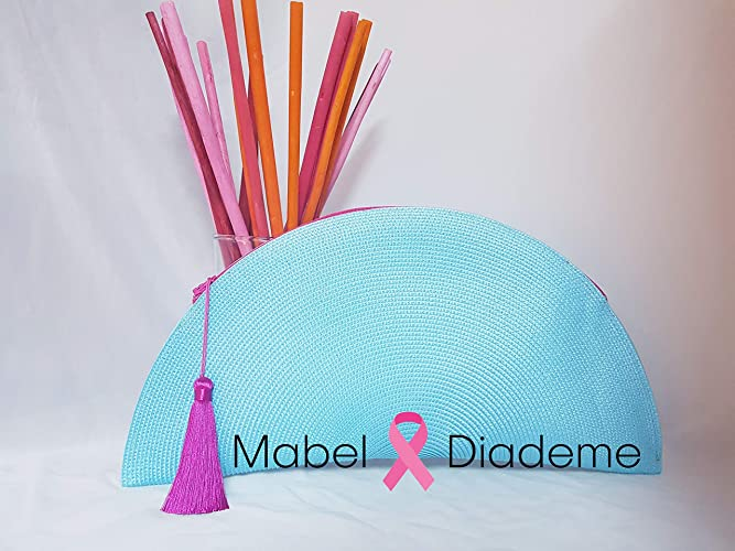 37baf0b85 Mabel Diademe bolso abanico de mano para bodas comunion eventos fiestas de  coctel complemento mujer ideal