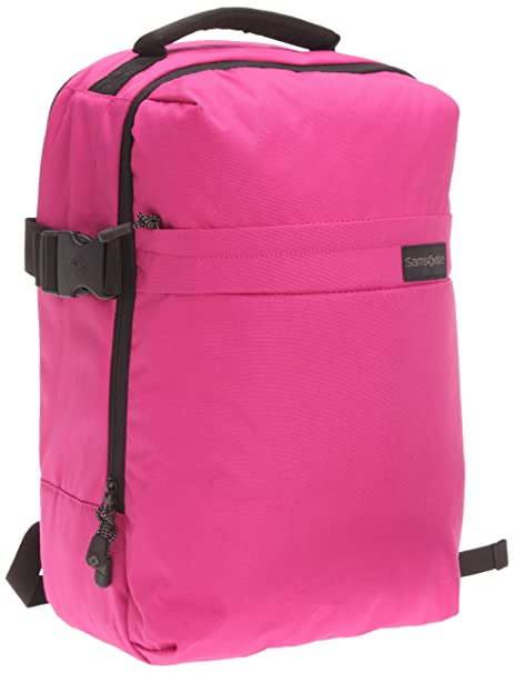 Samsonite Metatrack Medium - Mochila para ordenador portátil, rosa