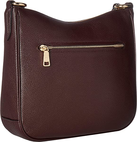 e7708efd55e4 Women's Polished Pebble Leather Chaise Crossbody